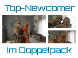 AbyAction Porno Video: Top Newcomer im Lesbo Doppelpack