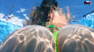 Adriana del Rossi Porno Video: Pool-Spanner